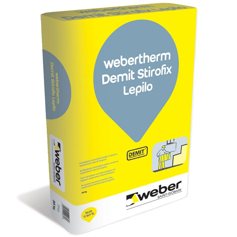 1746 webertherm demit stirofix lepilo